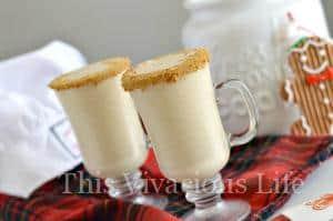Gluten-Free Gingerbread Milkshakes