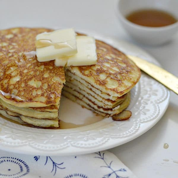 Gluten-Free Vanilla Bean Crepe Cakes