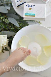 Easy Foot Bath and Beauty Bar For The Whole Family