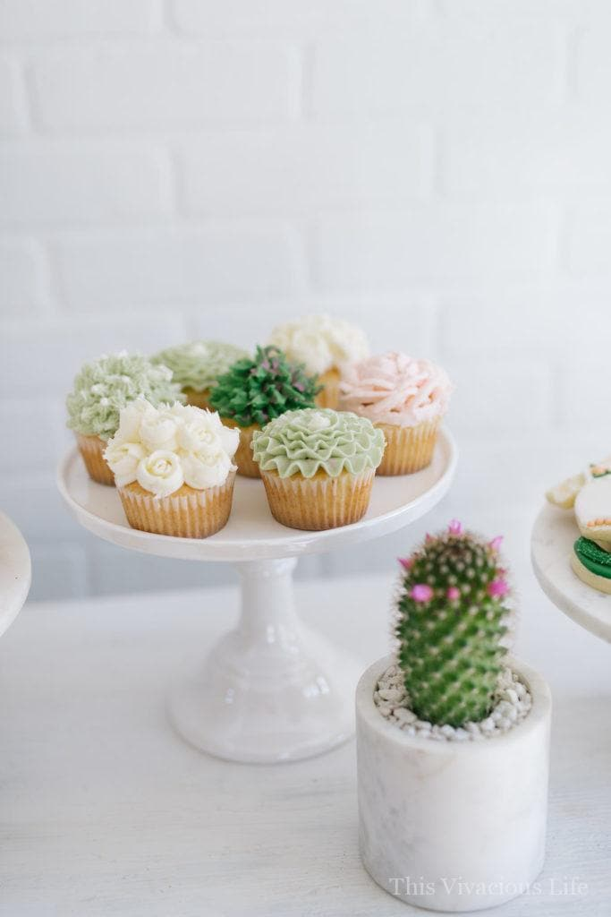 This Cactus Succulent Baby Shower + Cucumber Lime Mocktail with Watermelon Ice is the perfect way to celebrate the mommy to be in your life. It is fresh, modern and full of simplistic beauty that she will love!