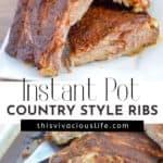 Instant Pot ribs pin