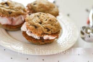 Gluten-Free Vegan Ice Cream Sandwich Chocolate Chip Cookies