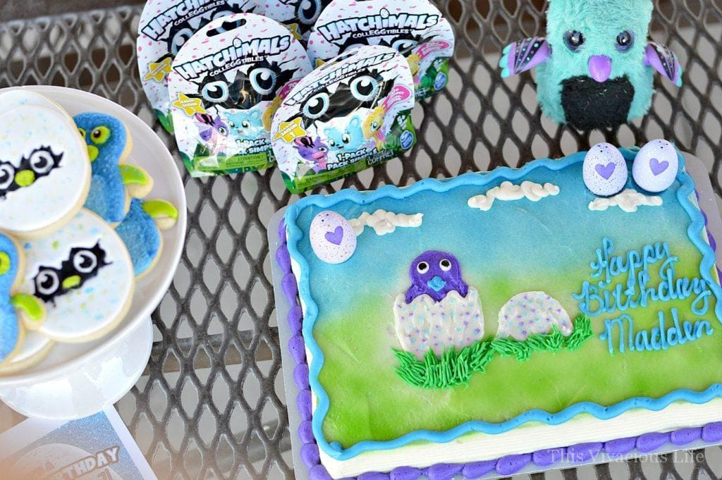 This Hatchimals birthday party is sure to put a smile on your little ones face.