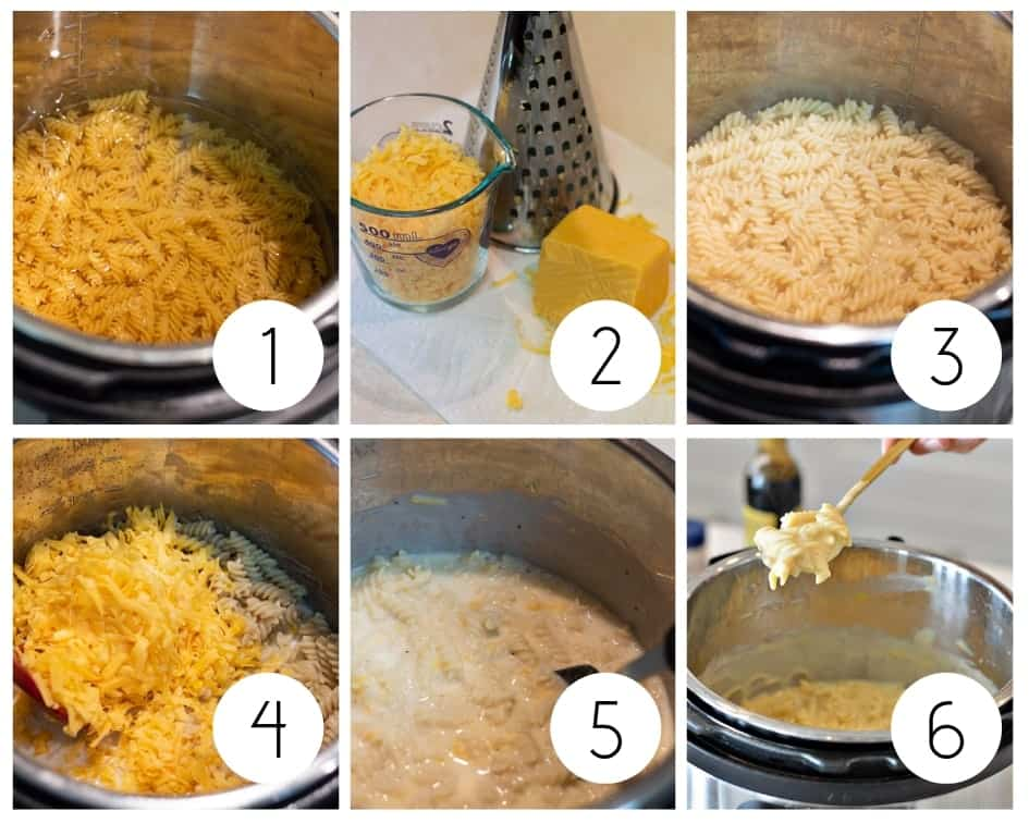 Step-by-step instructions for gluten-free Mac and cheese
