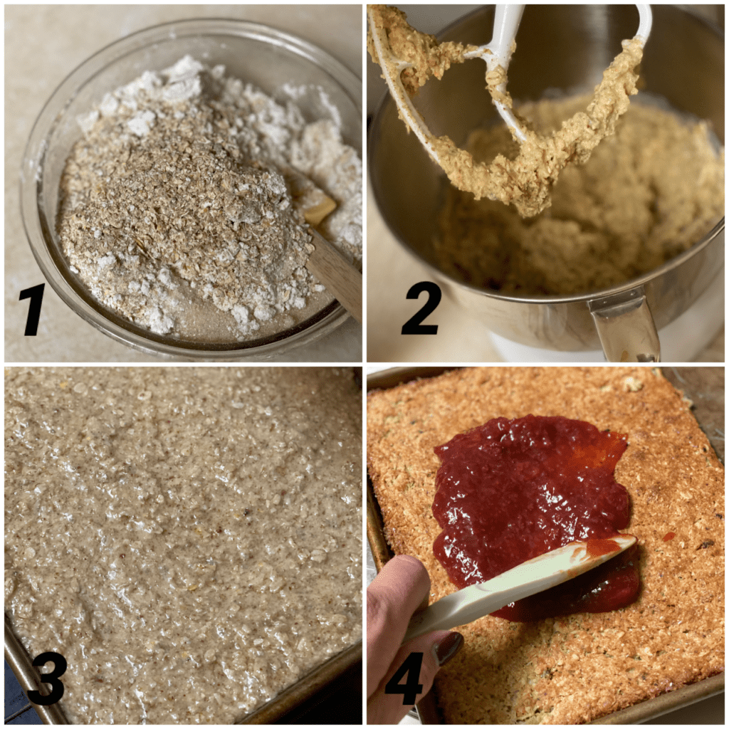 Baked oatmeal bars instructions