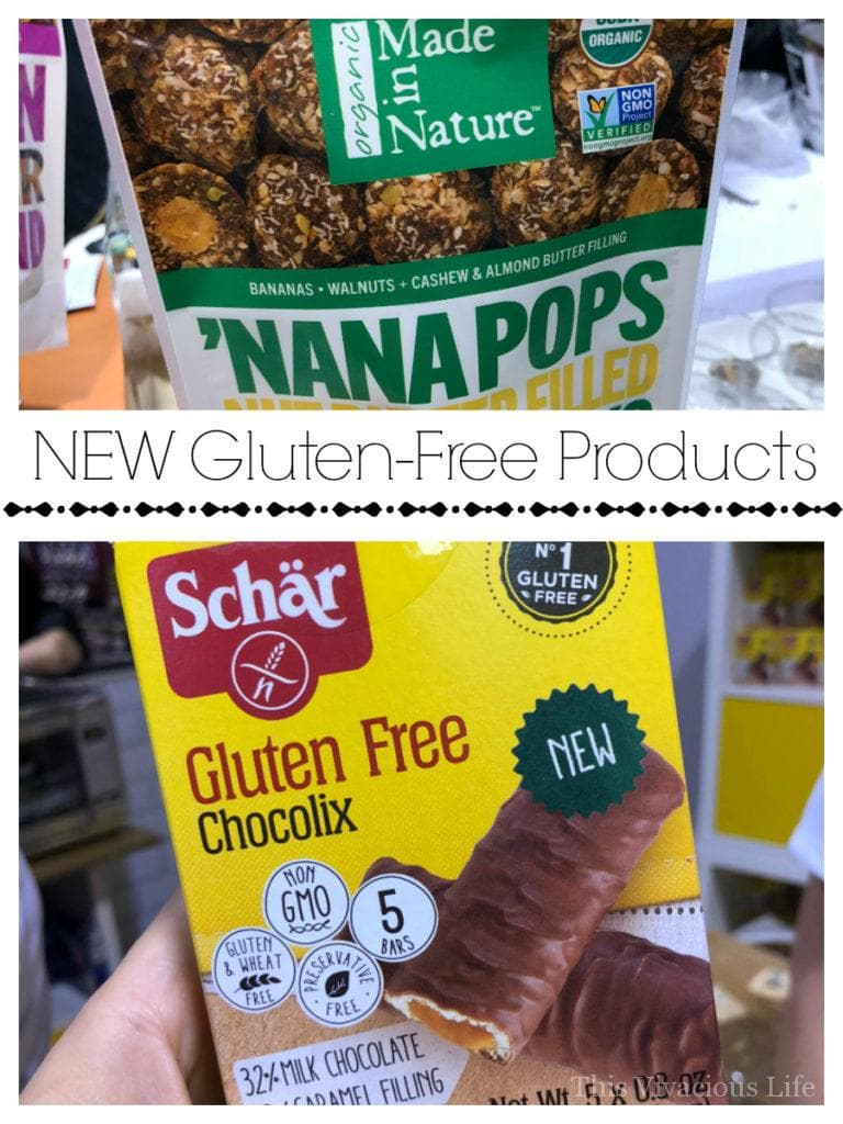 You guys are going to love these new gluten-free products! There are so many exciting things you've probably never seen before...GF Twix like bars anyone?