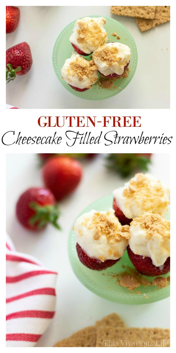 Everybody loves these cheesecake filled strawberries. They are a super easy summer treat to make that go perfect with any menu. The best part is that they only take a few minutes to make! We are going to show you some other great summer snacks as well.