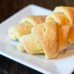 Gluten-free crescent rolls that are literally the BEST you have ever tasted! Flaky, fluffy and so delicious nobody would ever know they are gluten-free!
