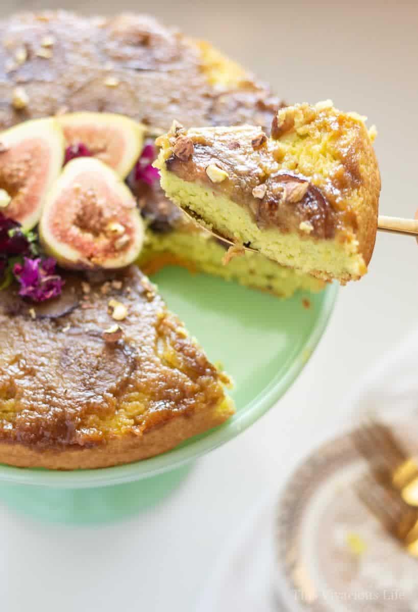 Fig Cake Upside Down {Gluten-Free}
