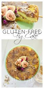This gluten-free fig cake is so moist and delicious! It has a secret ingredient to make it even more flavorful and soft but the pistachios on top will give you a little hint. This is very similar to pineapple upside down cake but with figs.