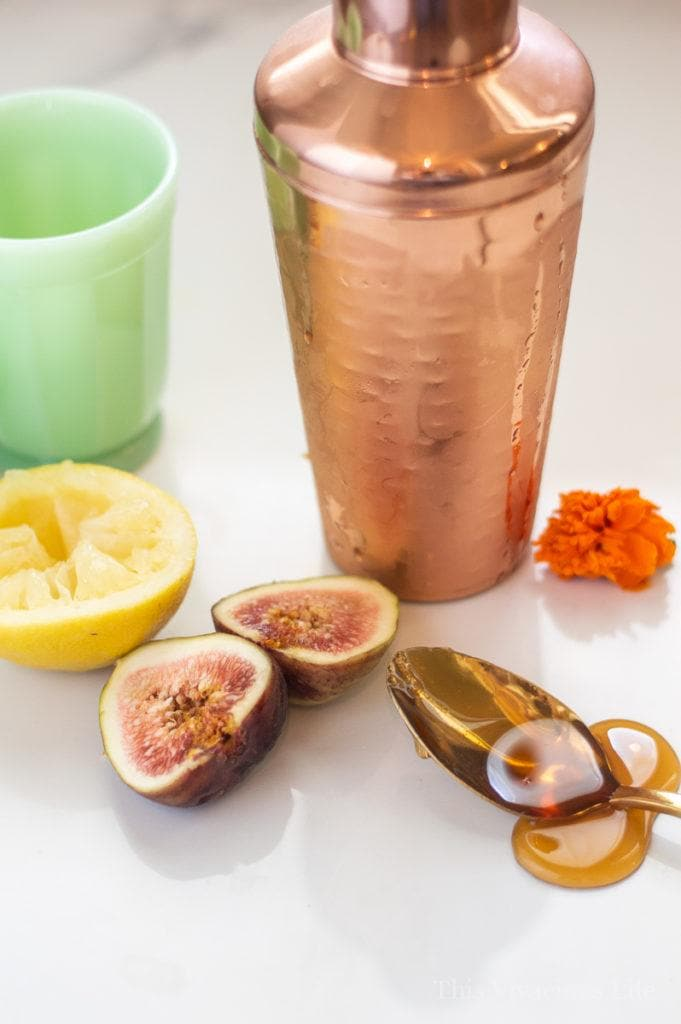 Fig Cocktail (Soft or Mocktail Version So All Can Enjoy) | summer drink recipes | fig recipe ideas | mocktail recipes | healthy fig recipes | gluten free drink recipes || This Vivacious Life #recipe #drinkrecipe #mocktails #cocktails #figrecipe #summerdrink #glutenfree #thisvivaciouslife