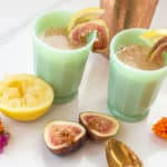 You can't go wrong when serving up this fig cocktail since its made soft into a mocktail, everyone can enjoy! It has delicious raw honey and is perfect for your next gathering with it's unique flavors.