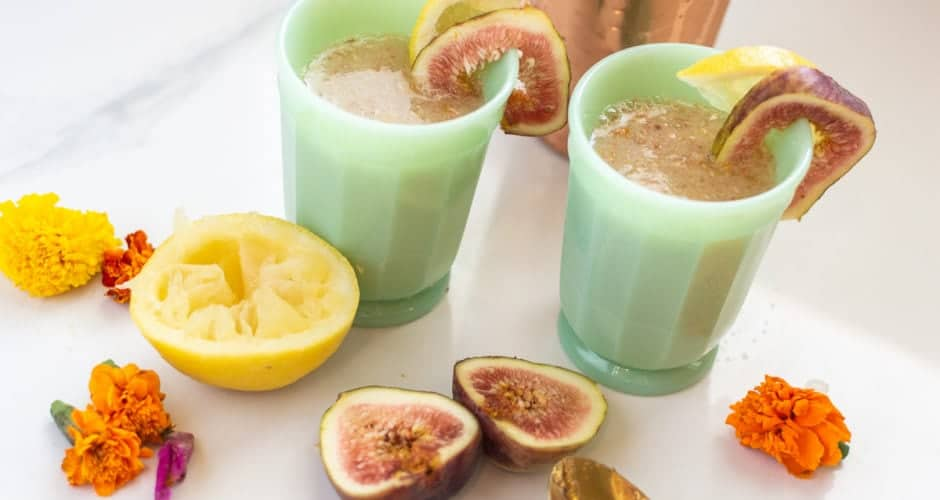 Fig Cocktail (Soft or Mocktail Version)