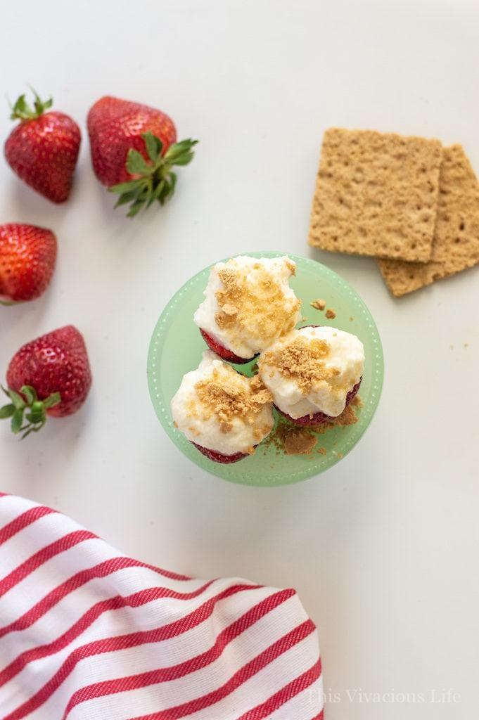 Gluten-Free Cheesecake Filled Strawberries and MORE Summer Eats | gluten-free desserts | gluten-free snacks | gluten-free fruit recipes | strawberry recipes | summer recipes || This Vivacious Life #recipe #glutenfree #summer #summerrecipe #strawberries #thisvivaciouslife