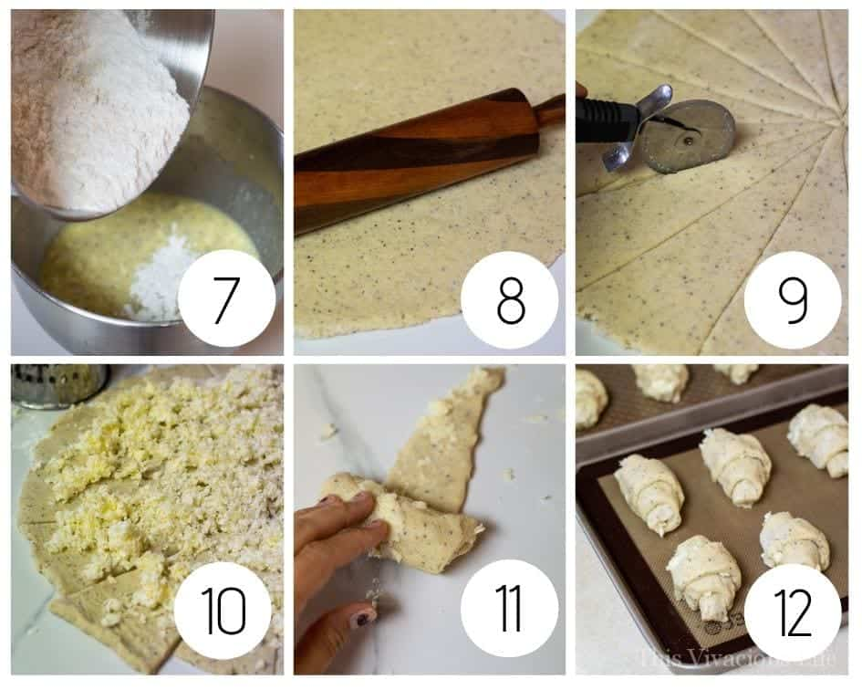 Step by Step Gluten-Free Crescent Roll Instructions