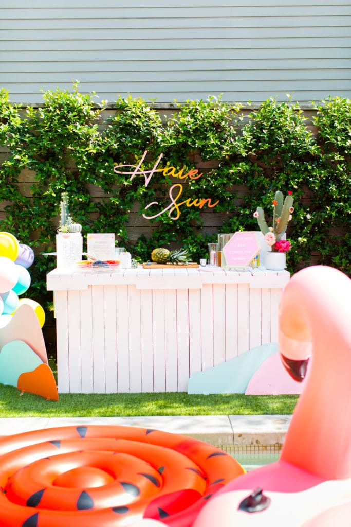 Pool party ideas! We've rounded up some of the very best pool party ideas that will WOW!