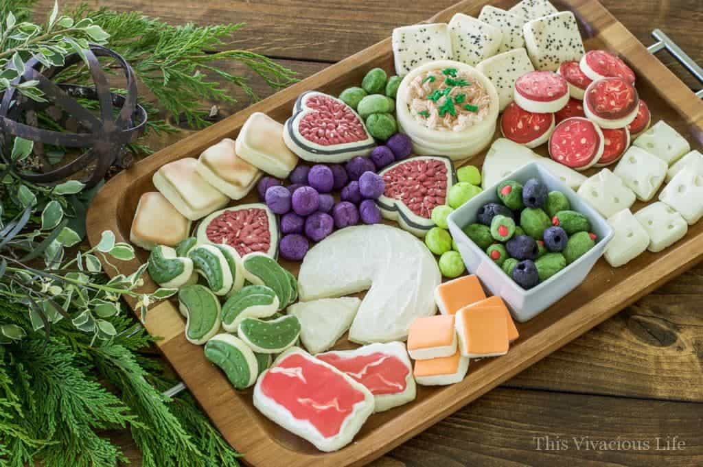 Charcuterie Cheese Board Cookies