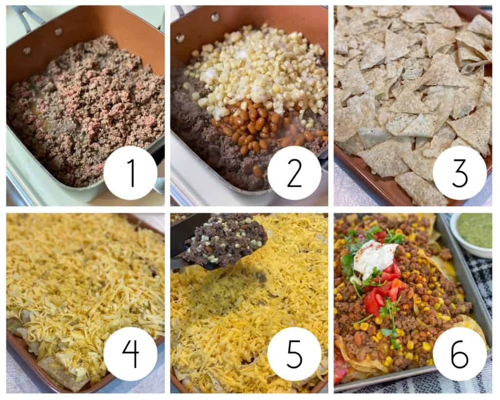 how to make nachos in the oven step by step photos