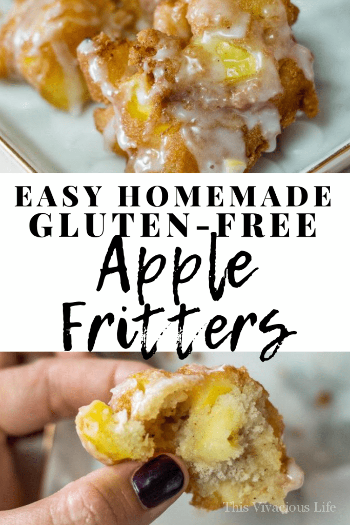Gluten-free apple fritters make for a great dessert especially during the fall when apples are in surplus.