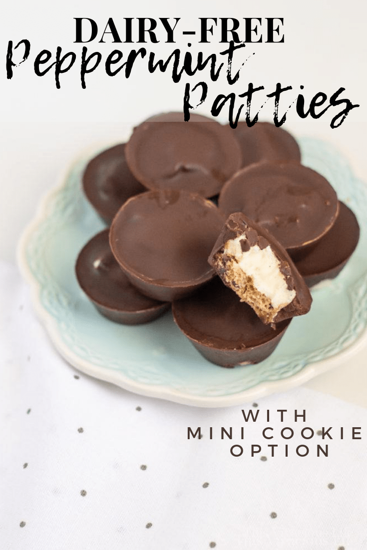 We are loving these dairy-free peppermint patties because they are so easy to make and everyone loves them!n || This Vivacious Life #dairyfree #peppermint #chocolate #peppermintpatties #thisvivaciouslife