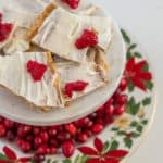 This Christmas crack recipe is super easy to make and so dang yummy! It is gluten-free and will definitely be a new holiday favorite treat!
