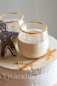 Gingerbread Martini Mocktail