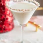 You are going to love these Christmas Mocktails...This candy cane martini mocktail is so pretty but so festive and delicious as well! Kids and adults alike with love it.