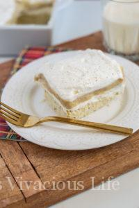 Eggnog Cheesecake Cream Delight DAY TWELVE OF THE 12 DAYS OF GLUTEN-FREE GIVEAWAYS