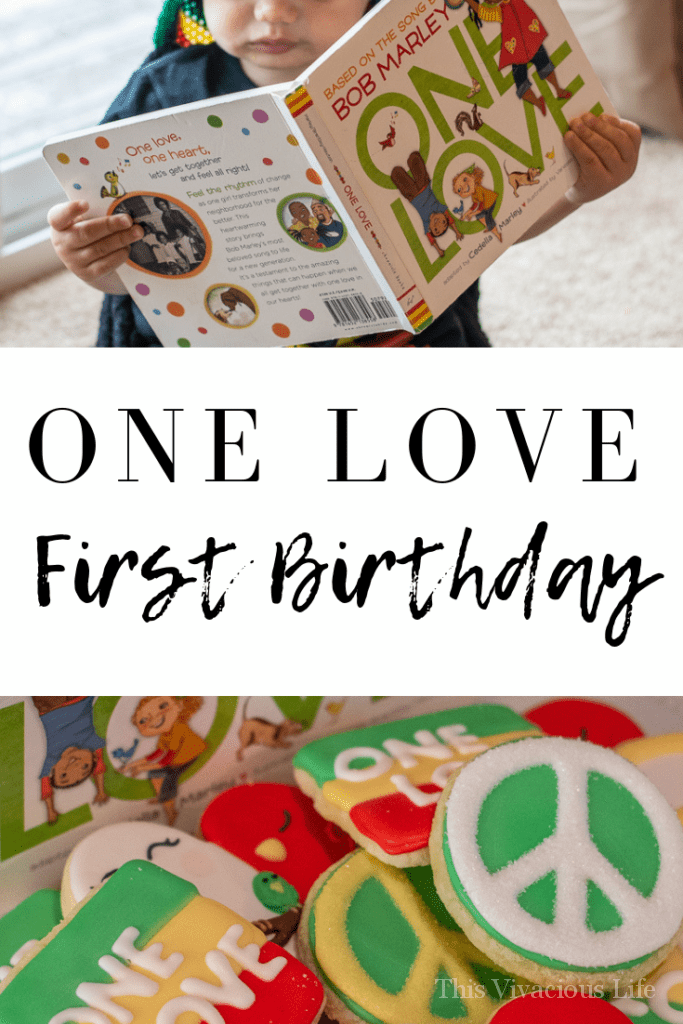 This one love party for our little mans first birthday was quite simple but was a good time for all. It was full of laid back fun and sweet themed treats! || This Vivacious Life #firstbirthday #kidsbirthday #partyideas #kidsparties #thisvivaciouslife