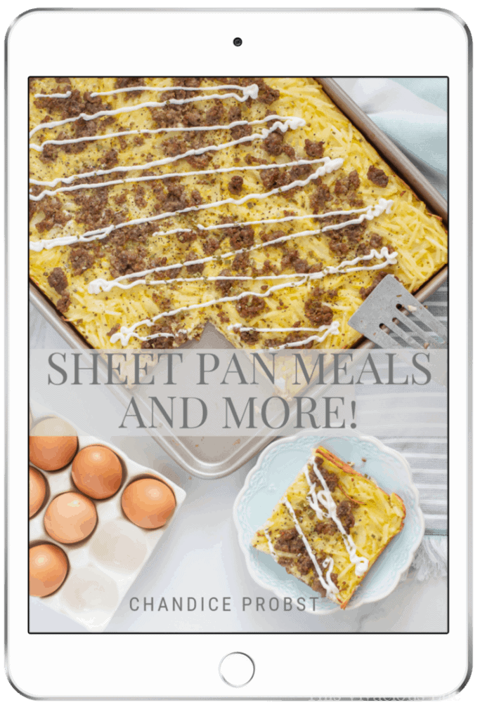 Sheet Pan Meals and More gluten-free e-book