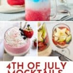 4th of July Drinks & Mocktails pin