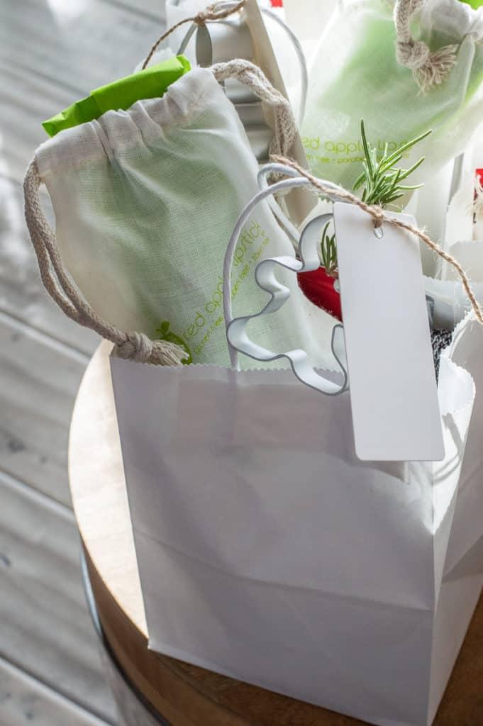 Hygge cozy Christmas bags
