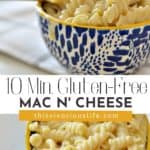 Instant Pot Gluten-Free Mac and Cheese pin