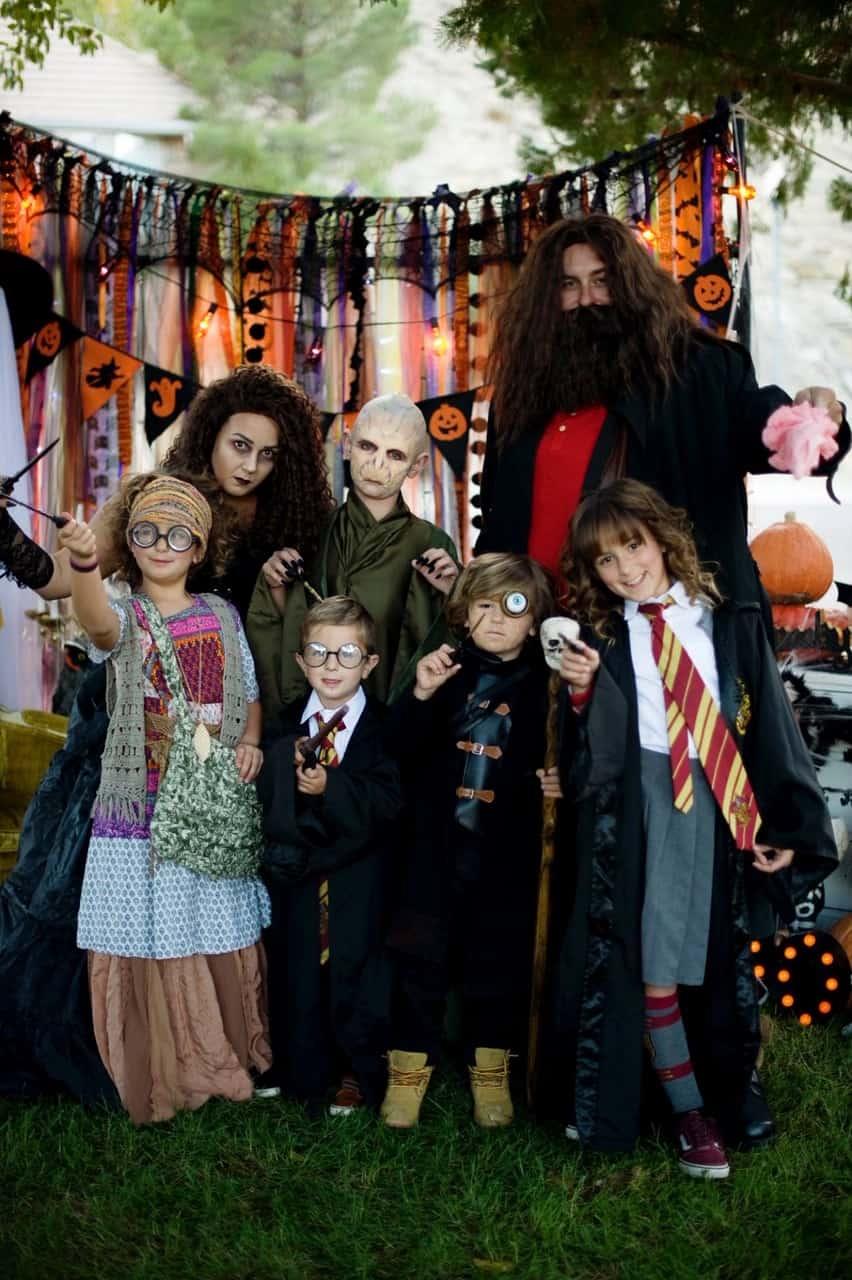 Harry Potter family Halloween costume
