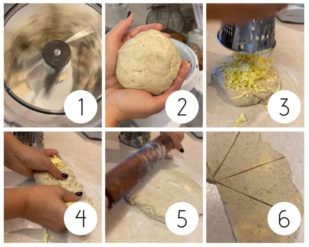 gluten-free sourdough step by step photos