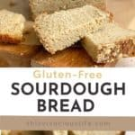 Gluten-Free Sourdough Bread (Honey Whole Grain) pin