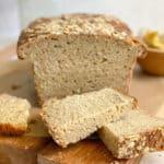 gluten-free sourdough bread sliced