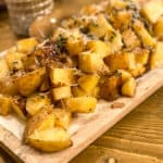 Roasted balsamic potatoes