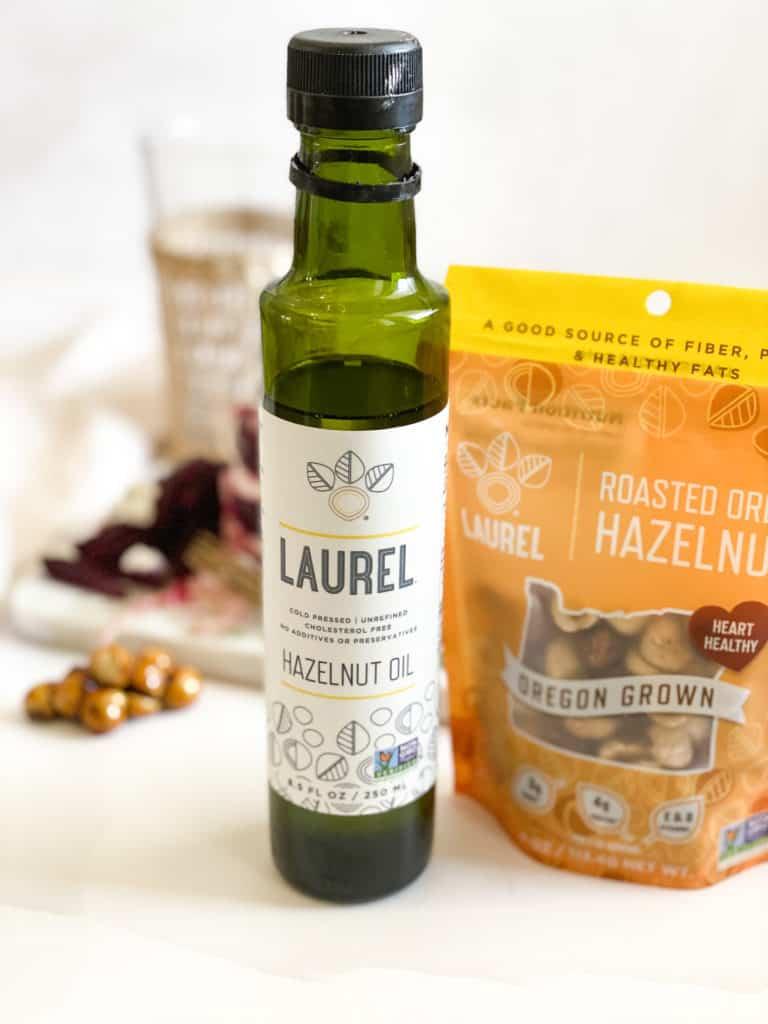 Hazelnut oil and hazelnuts