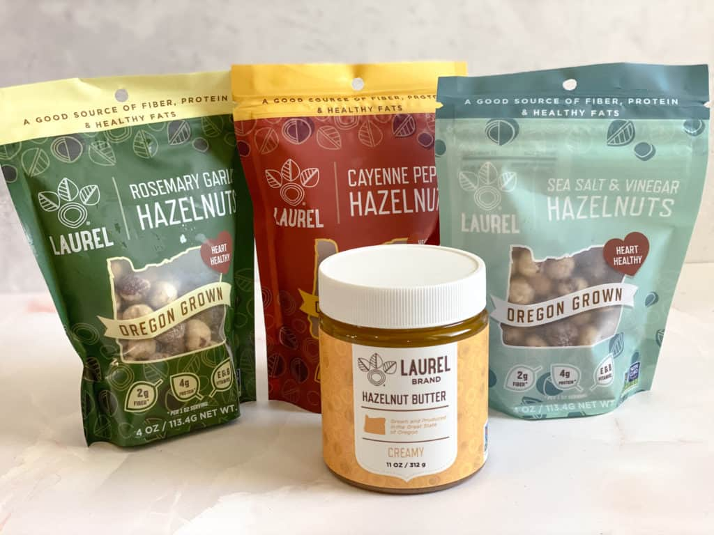 Hazelnuts and hazelnut butter