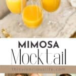 Mimosa Mocktail (Non-Alcoholic) pin