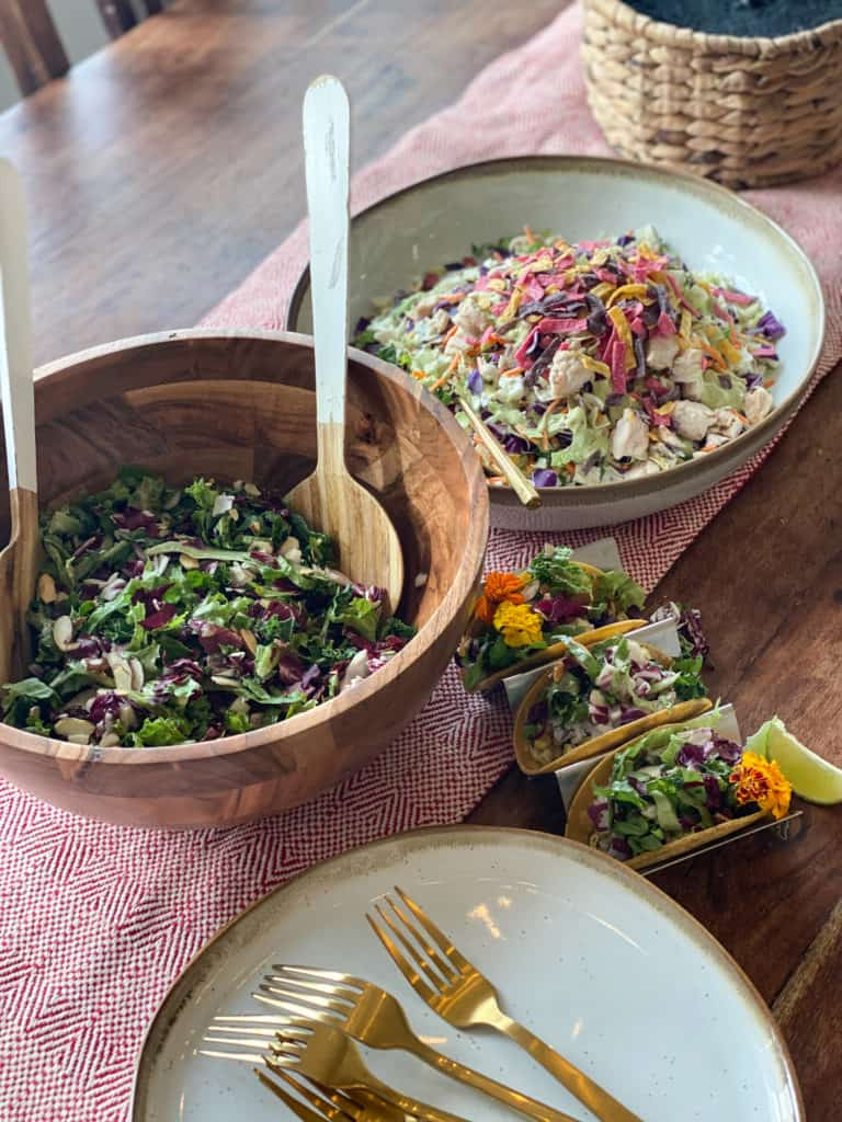Salad Bar and Holiday Cookie Boxes