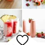Valentines Mocktails 20+ Recipes pin