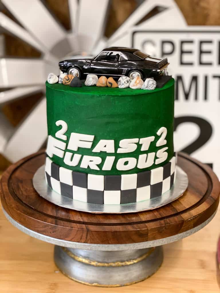 Vin's 2 Fast 2 Furious Birthday Party